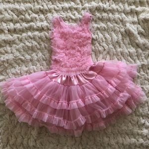 Adorable light pink Dress  for Girls 6Y